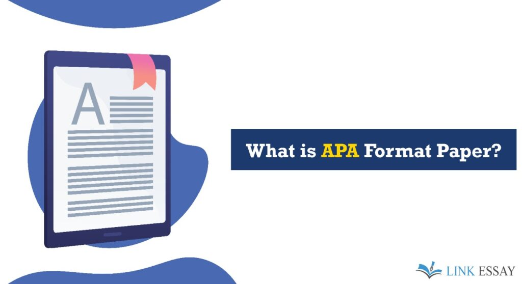 What is APA Format Paper