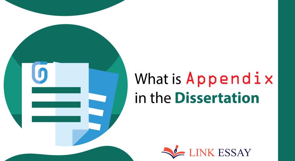 Appendix in the Dissertation