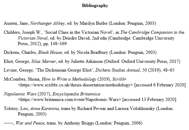 mhra-bibliography-example-1